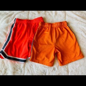 OshKosh B'gosh Bottoms - Two pairs of Oshkosh athletic shorts size 5T